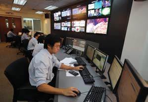 Measat-Network Management Centre (NMC) in MEASAT's facility